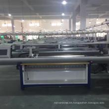 2017 QL-52C solo carro doble sistema suéter haciendo plana máquina de tejer