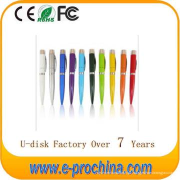 Disco instantâneo de USB da pena do logotipo da venda venda quente para a promoção para a amostra grátis