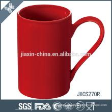 new ceramic coffee mug, colored porcelain mug