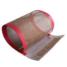 Tecido de malha de fibra de vidro PTFE 4x4mm serigrafado