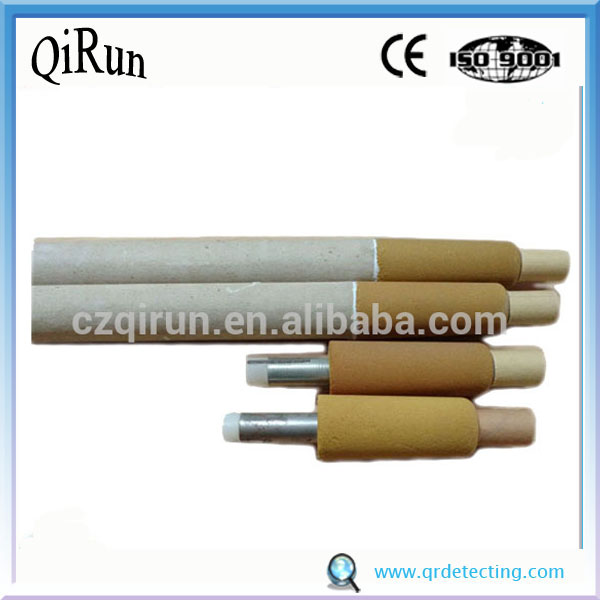Low Oxygen and Temperature Sensor for Steelmaking