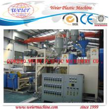 1200-1800mm PVC Cling Film Line (Winder de eixo duplo)
