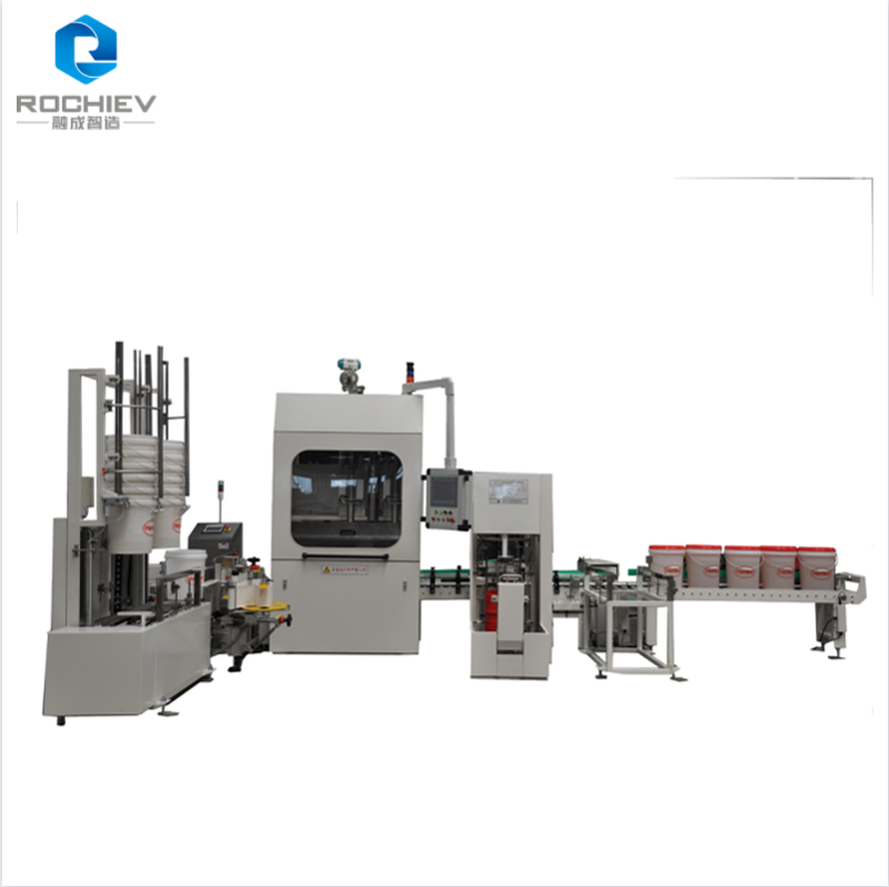 Automatic Inline Can Filler and Capper