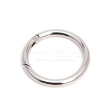 Grande anneau métallique à anneau de ressort