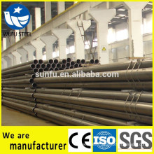 Structure welded round S235JR steel pipe with ISO CE SGS