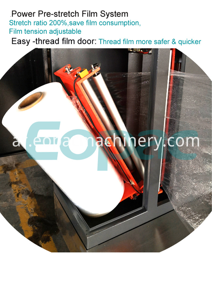 Airport Baggage Wrapping Machine for Sale
