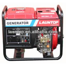 5.5kw Luftgekühlter 4-Takt Tragbarer Diesel Generator Satz
