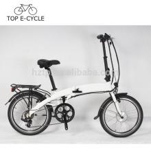 2017 vente chaude 36 V 250 W 20 pouces une roue pliant vélo électrique