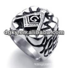 Anéis de aço inoxidável 316l com forma gravada
