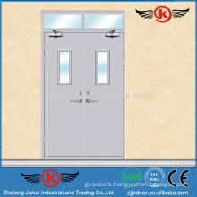 JK-F9009 ul fire door/Steel fire proof door/fire rated glass door