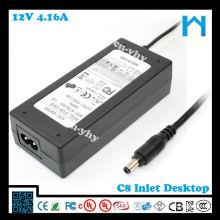 Transformateur électronique 12v 50w pour pos systerm ul ac / dc adaptateur 50w 12v 4.16a
