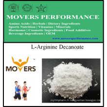 Acides aminés de qualité supérieure Décanoate de L-Arginine pour la nutrition sportive