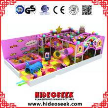 Süßigkeits-Thema-Spielplatz-Ausrüstung für Innen