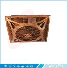 Ventilador de teto plástico do refrigerador elétrico branco da cor 14′′wooden