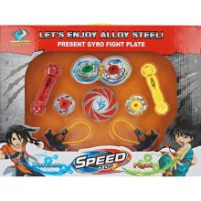 Present Gyro Fight Plate Sport Toys Speed Battle Top