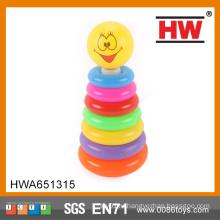 2015 Горячая продажа 7 класс пластиковые кольца кольцо игрушка для ребенка