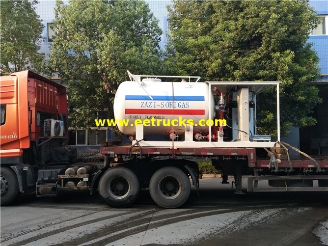 5000 Gallons Autogas Portable Skid Tanks