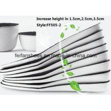 A palmilha exterior da palmilha do esporte da altura do aumento da alta qualidade a mais atrasada (FF505-2)