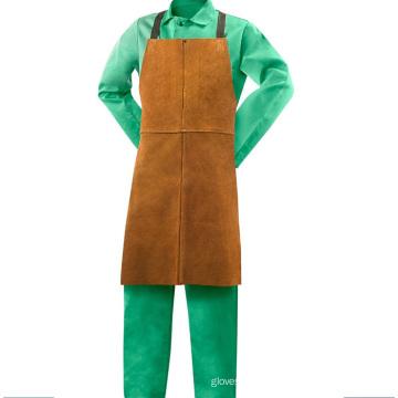 Resistente ao calor resistente soldadura de couro do avental