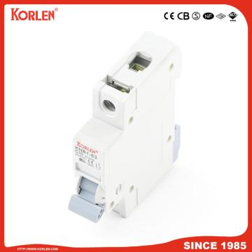 Miniature Circuit Breaker 4.5KA 63A 1P with SIRIM
