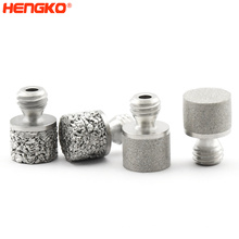 Bio-reactor 316L stainless steel diffuser stone 5 10 15 50 100 micron sintered bead porous sparger