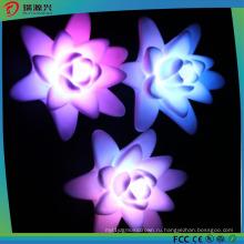 20116 новые украшения формы лотоса свет свечки СИД