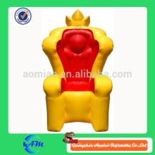 Best Seller Inflável King Chair / Throne inflável para venda
