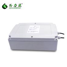 Batería de litio solar de encargo del ciclo profundo 24v 12v 100ah de la venta al por mayor de la fábrica de China para el sistema solar
