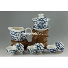 Qinghua Keramik Geschenk Tee Tasse Set
