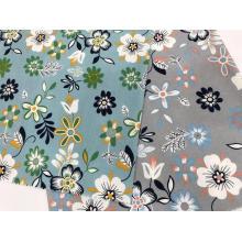 Cómoda falda y tops de tela de lino y algodón