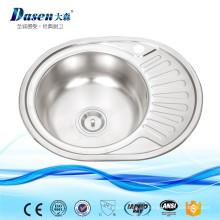 China Hersteller tragbare kleine 316 Edelstahl Garten Outdoor Waschbecken