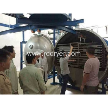 hawthorn slice vacuum drying machine for food industry