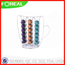 Boston Warehouse Metal Coffee Cup Nespresso Holder