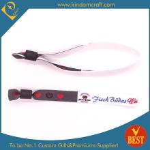 Chinesische Fabrik Custom Fabric Wristband zu günstigen Preis