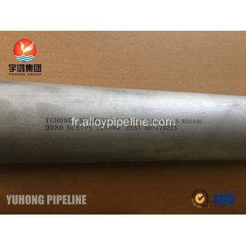 Tube Monel 400 ASTM B165 UNS N04400