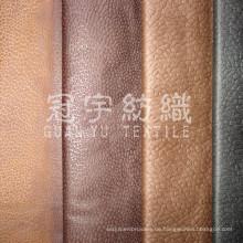Geprägtes Wildleder Sofa aus 100% Polyester mit Rücken