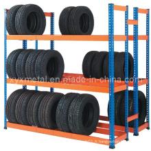 Rack de stockage de pneu en entrepôt en poudre sélectif