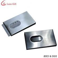 Высокое качество логотипа металла карты держатель оптом