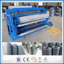 Spot welding full automatic steel wire roll mesh making machine