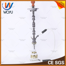 Shock Wave Stainless Steel Shisha Hookah Charcoal Water Pipe Smoking Tobacco