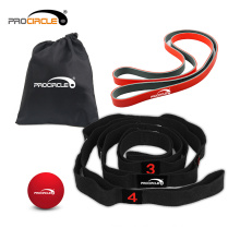 Exercise Stretching Strap Resistance Loop Band Set for Gymnastics and Powerlifting