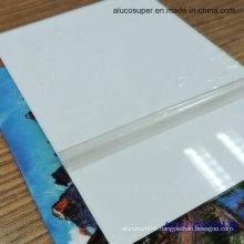 Pearl Matt Glossy White Sublimation Aluminum Sheet