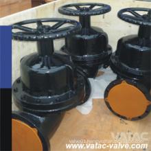 Pneumatic&Electric Ggg40 Ductile Iron Pn16 Flanged Diaphragm Valve