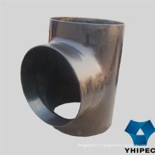 Raccords de tuyaux en acier au carbone (té, coude, réducteur, bouchon)