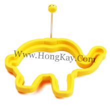 Animal Shape FDA Food Grade Silicone Egg Ring, Kitchen Egg Tool Silicone Ring