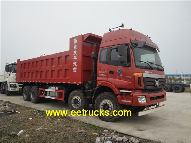 12 Wheeler Self-discharging Trucks