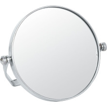 Metall und Chrom-doppelseitig-Make-up-Spiegel