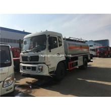 Dongfeng 3cbm a 6cbm caminhão tanque de combustível de petróleo