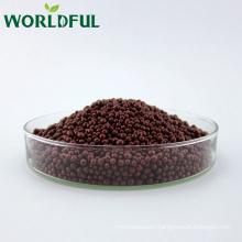 Nutrients rich humic acid + amino acid resin coated granule granular13-1-2 organic fertilizer