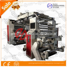 Nouveau type de machine d'impression typographique de film plastique de couleur Flexo 6